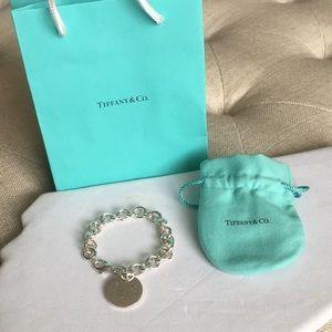 Tiffany & Co. Jewelry - Tiffany & Co. RTT round tag charm bracelet